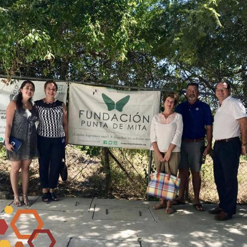 Visits to community foundations